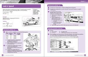 School book layout